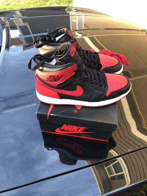Jordan 1 banned size 9.5 for Sale in Houston, TX