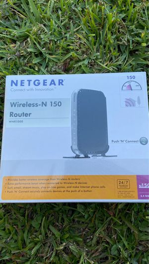 WiFi NETGEAR Router N150 for Sale in Miami, FL