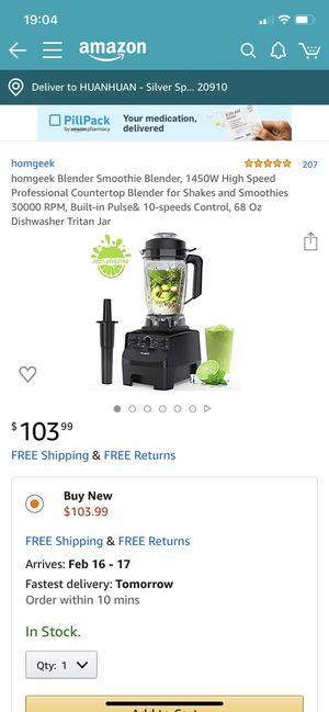 high speed Blender for Sale in Takoma Park, MD