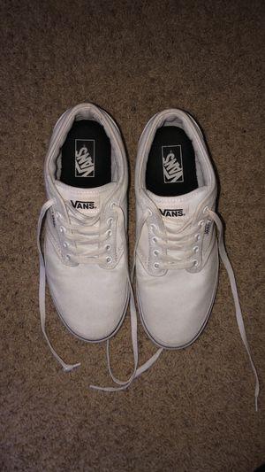 White Vans - US MENS 10 for Sale in Clearwater, KS
