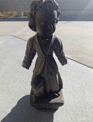 Wooden garden sculpture $5 for Sale in Beaumont, CA