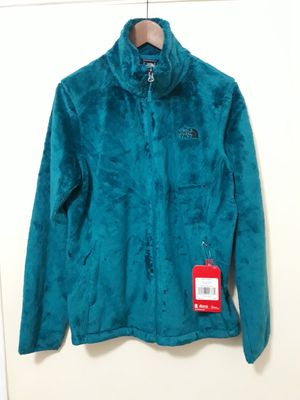 (New) Harbor Blue Large Osito 2 North Face Large Women's Jacket $60. for Sale in Irving, TX