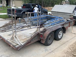 16 foot trailer with tool box for Sale in Houston, TX