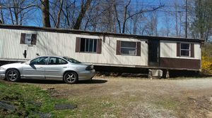 Fixer upper trailer. 2bedrooms 1 bath, kitchen and living room together for Sale in Scottdale, PA
