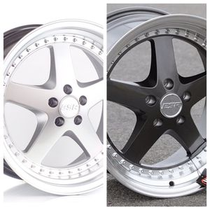 "ESR 18"" Wheels fit 5x120 5x100 5x114 ( only 50 down payment/ no CREDIT CHECK) for Sale in Philadelphia, PA"