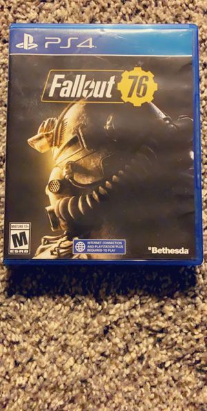 Fallout 76 PS4 for Sale in Montrose, CO