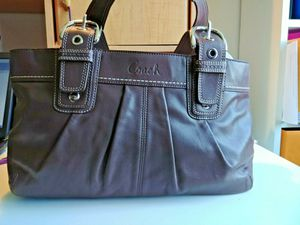 Coach brown leather handbag purse satchel for Sale in Lincolnia, VA