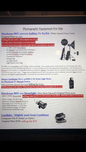 Photography & Lighting Equipment for Sale in Fort Belvoir, VA