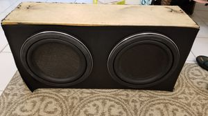 12 inch subs with 1200 watt amp for Sale in Plantation, FL