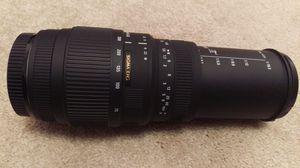 Sigma DG 70-300 mm F4-5.6 lens for Sale in Santa Ana, CA