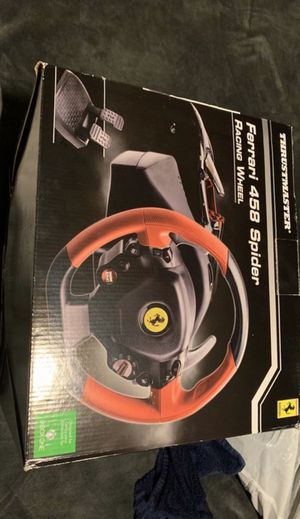 Thrustmaster Ferrari 458 spider racing wheel for Sale in Glendale, AZ