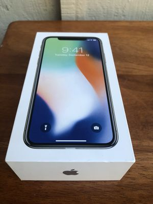 iPhone X 256GB for Sale in Sunnyvale, CA