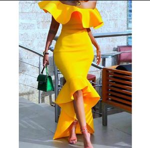 Yellow Dress Size Large for Sale in Industry, CA