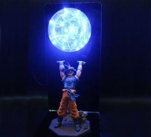 Dragon Ball Z Blue goku lamp for Sale in Glendale, AZ