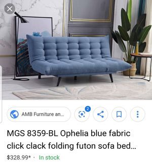 Futon sofa bed for Sale in Forest Park, GA