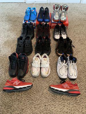 Jordans, Nikes, and New Balances sizes 7.5-8.5 for Sale in Atlanta, GA