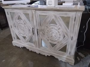 TV stand dresser chest buffet $600 sale today only for Sale in Dallas, TX