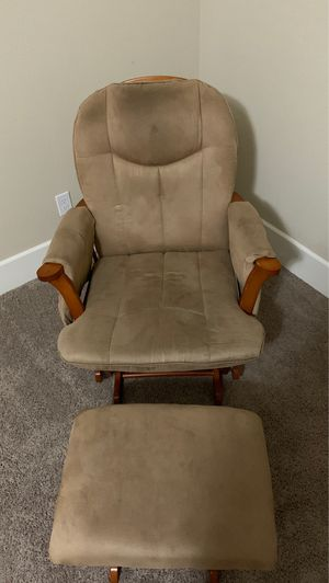 Rocking Chair and Ottoman for Sale in Clovis, CA