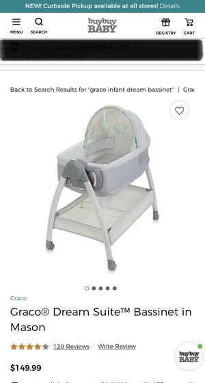 Bassinet and Diaper changing table all in one for Sale in Temple Hills, MD