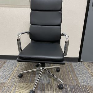 Genuine Italian Top Grain Leather chairs For Home/Office/Conference for Sale in San Diego, CA