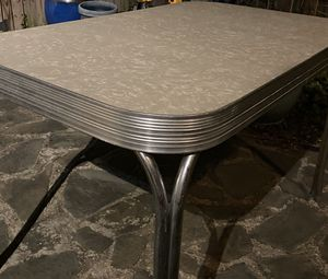1950s Style Formica Chrome Dinette Kitchen Table for Sale in Alexandria, VA