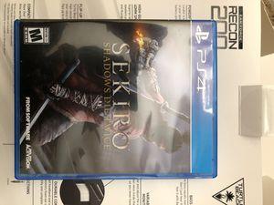 SEKIRO: Shadows Die Twice (PS4) for Sale in Chula Vista, CA