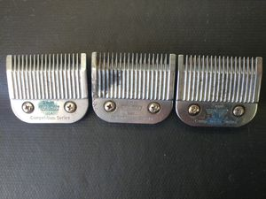 3 Wahl #9 blades 2mm dog and animal grooming for Sale in Lakeside, AZ