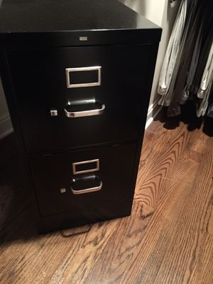 Two drawer file cabinet for Sale in Chevy Chase, MD