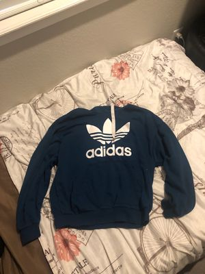 adidas turquoise/blue hoodie for Sale in Denver, CO