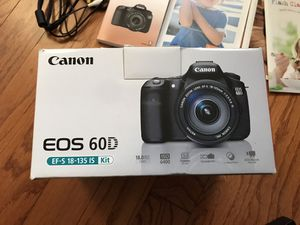 Canon 60D kit for Sale in Streamwood, IL