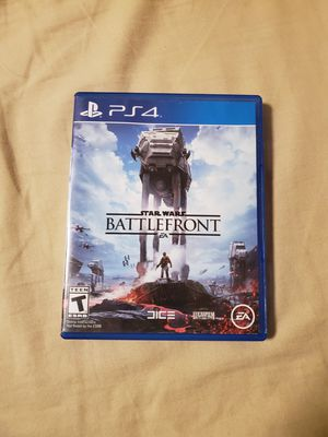 Star wars battlefront for the ps4 for Sale in Las Vegas, NV