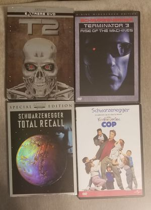 arnold schwarzenegger DVD LOT for Sale in Kannapolis, NC