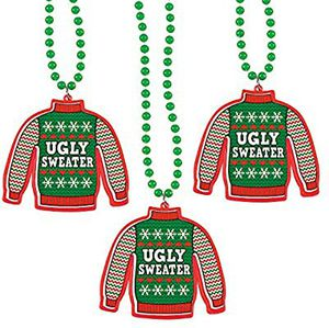 Fun Express - Ugly Sweater Necklace for Christmas - Jewelry - Necklaces - Necklaces - Novelty - Christmas - 12 Pieces for Sale in Hawthorne, CA