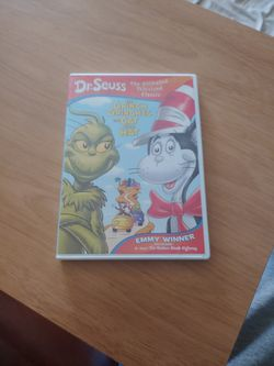 DVD Dr. Suess The Grinch Grinches the Cat in the Hat for Sale in San Diego,  CA