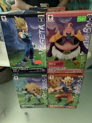 DXF Dragon Ball Z Banpresto Figures Goku Buu Gotenks Majin Vegeta for Sale in Pembroke Park, FL