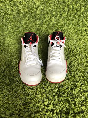Air Jordan retro 5 fire red for Sale in Arlington, VA