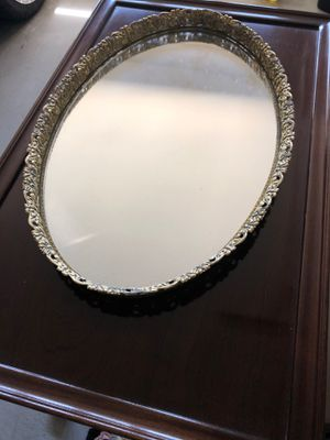 Large mirror dresser tray for Sale in Mission Viejo, CA