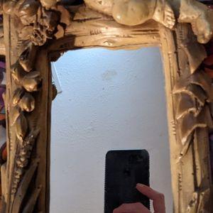 Vintage Cherub Mirror , Hand Painted for Sale in Baton Rouge, LA