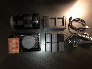 Sony a6500 Bundle (w/ accessories & lens!) for Sale in Anaheim, CA