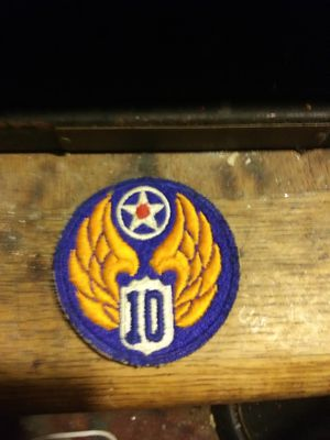 10th Airborne Flying Tigers 1944 WW2 patch for Sale in Eureka Springs, AR