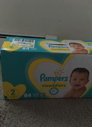 Pampers size 2 for Sale in Winchester, CT