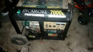 7000 watt. Gas Generator for Sale in La Russell, MO