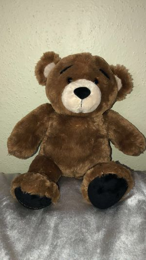 Cute male teddy bear (brown) (build-a-bear workshop) for Sale in Houston, TX