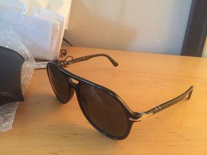 Persol designer aviator style, polarized UV sunglasses, handmade for sale  Italy for Sale