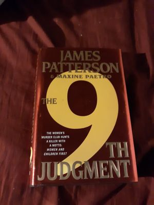James Petterson the 9th book for Sale in St. Louis, MO