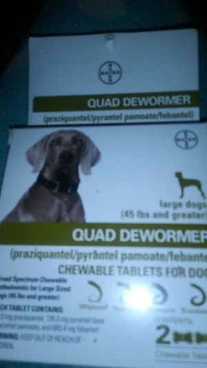 Dewormer for dogs for Sale in San Francisco, CA