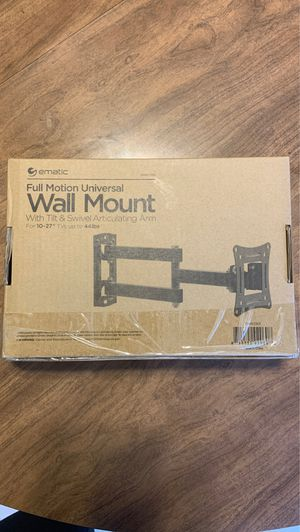 ENMATIC FULL MOTION UNIVERSAL WALL MOUNT for Sale in Morgantown, WV