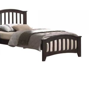 Twin Bed - 04980T - Dark Walnut RWX for Sale in Ontario, CA