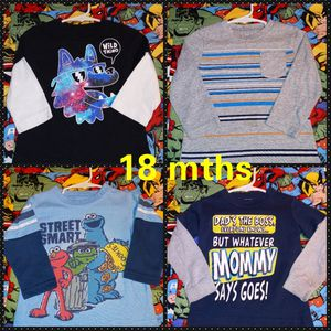 Clothes size 18mths & 18-24mths for Sale in San Antonio, TX
