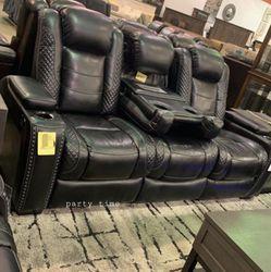 İn STOCK LED Power Recliner Sofa for Sale in Alexandria,  VA